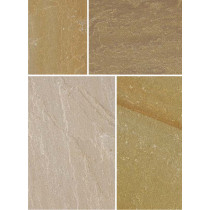 Bradstone Natural Sandstone 300x300 Autumn Green Pavers