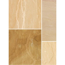 Bradstone Natural Sandstone 300x300 Sunset Buff Pavers