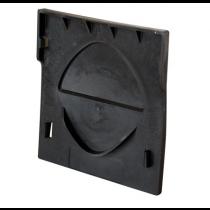 Aco Hexdrain Black Plastic End Cap