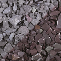Tippers Celtic Plum Slate Bulk Bag 20mm Decorative Stones