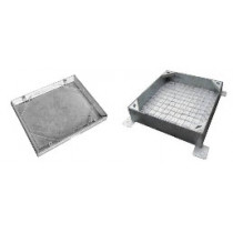 Wrekin 600x450x10t Recessed Mild Steel Cover