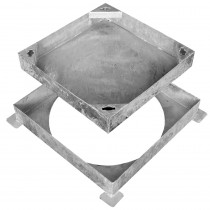 Square To Round Pavior Cover - 10t 300mm