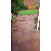 Ethan Mason EM Modac 15.3m2 Smooth Sandstone Paving Patio Pack EMMOSPFK