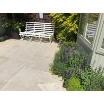 Ethan Mason EM Vanilla 15.3m2 Smooth Sandstone Paving Patio Pack EMVASPFK