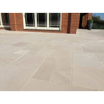 Ethan Mason Ivory 15.3m2 Smooth Sandstone Paving Project Pack EMPSSIV