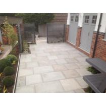 Ethan Mason Vanilla 15.3m2 Smooth Sandstone Paving Project Pack EMPSSVN