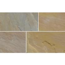 Ethan Mason Gurdha Buff 15.3m2 Riven Sandstone Paving Project Pack EMPNSGB