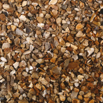 Tippers Golden Gravel 10mm Bulk Bag Decorative Stones