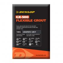 Dunlop GX-500 Graphite Grey Flexible Grout 10kg BAL25956