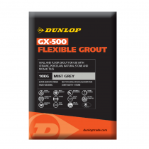 Dunlop GX-500 Mist Grey Flexible Grout 10kg BAL25955