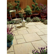 Eaton Impressions 7.6m2 Stowe Cotswold Riven Paving Project Pack CPSIST
