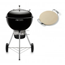 Weber Master-Touch GBS 57cm Charcoal Kettle Barbecue Black 14501004