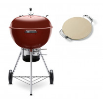 Weber Master-Touch GBS 57cm Charcoal Kettle Barbecue Crimson 14503004