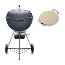 Weber Master-Touch GBS 57cm Charcoal Kettle Barbecue Slate Blue 14513004