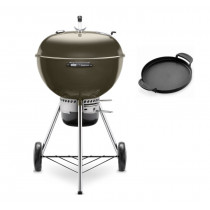 Weber Master-Touch GBS 57cm Charcoal Kettle Barbecue Smoke Grey 14510004