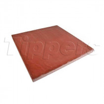 Eaton Milford 450x450x35 Red Riven Flag Paving CPSM4545R
