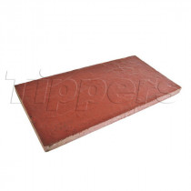 Eaton Milford 600x300x35 Red Riven Flag Paving CPSM6030R