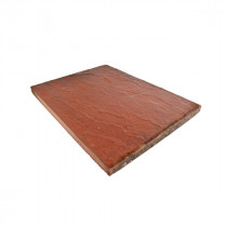 Eaton Milford 600x450x35 Red Riven Flag Paving CPSM6045R