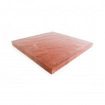 Eaton Milford 600x600x35 Red Riven Flag Paving CPSM6060R