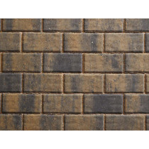 Plaspave Monopoli 240x12x60mm Burnt Bracken Block Paving Project Pack