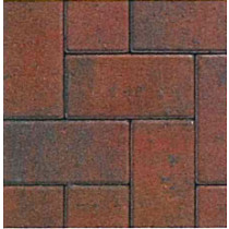 Eaton Type R Multi Brick 60mm Block Paving EABPBR