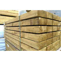 New Softwood Sleepers 100mm x 200mm x 2.4m