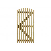Charlton 0.915mx1.750m Orchard Curved Pedestrian Gate