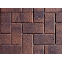 Plaspave Sixty Rustic Gold 200x100x60mm Block Paving