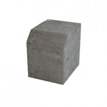 Eatons Charcoal Small Restraint Kerb 125x125x100