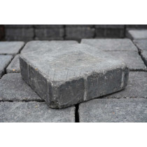 Eaton Tumble Medium Carbon 156x156x50mm Block Paving EABPTCAM