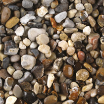 Weathered Flint 20mm Mini Bag Decorative Stones