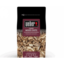 weber smoking cherry wood chips