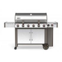 Weber Genesis II LX S-640 GBS Stainless Steel Gas Barbecue 63004174