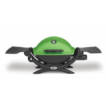 Weber Q1200 Green Portable Gas Barbecue 51070074