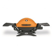 Weber Q1200 Orange Portable Gas BBQ 51190074