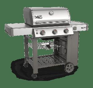 Weber Genesis II S-310 GBS Stainless Steel Gas BBQ 61001174