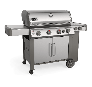 Weber Genesis II SP-435 GBS Stainless Steel Gas BBQ 62006174 - NEW 2019 MODEL