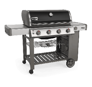 Weber Genesis II E-410 GBS Black Gas BBQ 62011174 - NEW 2019 MODEL