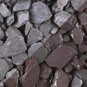 Tippers Celtic Plum Slate Mini Bag 40mm Decorative Stones