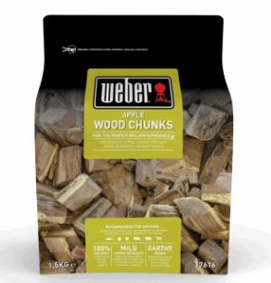 weber apple smoking wood chunks