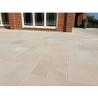 Ethan Mason EM Ivory 15.3m2 Smooth Sandstone Paving Patio Pack EMIVSPFK