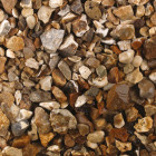 Tippers Harvest Gold 20mm Bulk Bag Decorative Stones