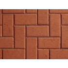 Plaspave 50 Red 200x100x50mm Block Paving