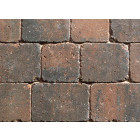 Sorrento Rustic Gold Mixed Size Tumbled Setts Block Paving