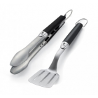 Weber Original 2pc Portable Barbecue Tool Set  6645