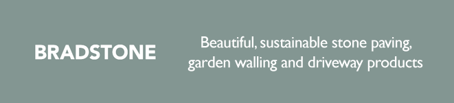 Bradstone beautiful, sustainable stone paving, garden walling and driveway products
