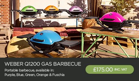 Weber Q1200 Portable Gas Barbecue