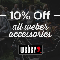 Save 10% Off All Weber Accessories When You Buy Any Weber Barbecue